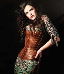 Photo by Edward Saenz / Ultravolta photography http://www.ultravolta.com Corset by Dark Garden